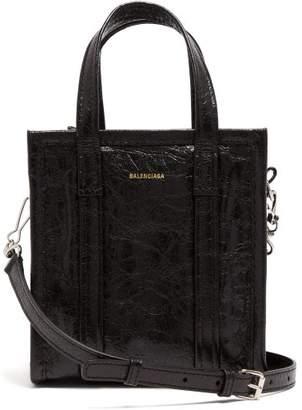 Balenciaga Bazar Shopper Xxs - Womens - Black