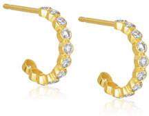 Amrapali Legend Tarakini Mini Diamond Hoop Earrings
