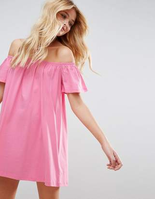 ASOS Off Shoulder Mini Dress $24 thestylecure.com