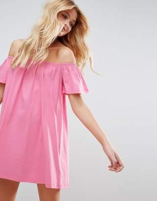 ASOS Off Shoulder Mini Dress $24 thestylecure.com