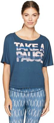 Lucy Women's Take a Pause Graphic Tee
