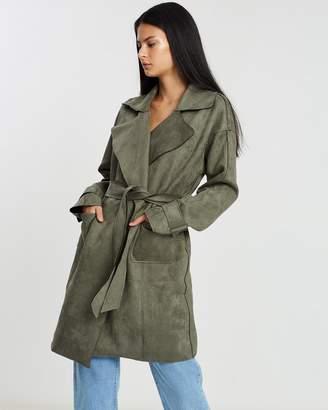 Agata Suede Coat