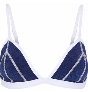 Duskii Mélange Neoprene Triangle Bikini Top