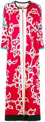Chirazi floral print cardi-coat