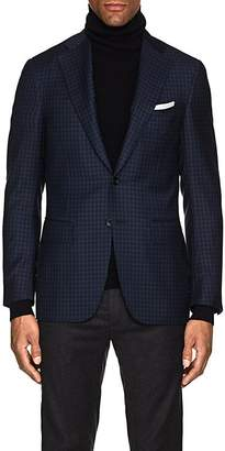 Canali Men's Checked Wool Two-Button Sportcoat
