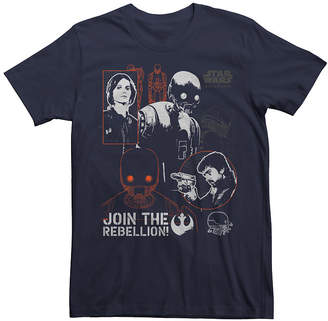 Star Wars Novelty T-Shirts Join the Rebellion Graphic Tee