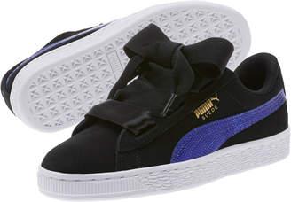 Suede Heart Snake JR Sneakers