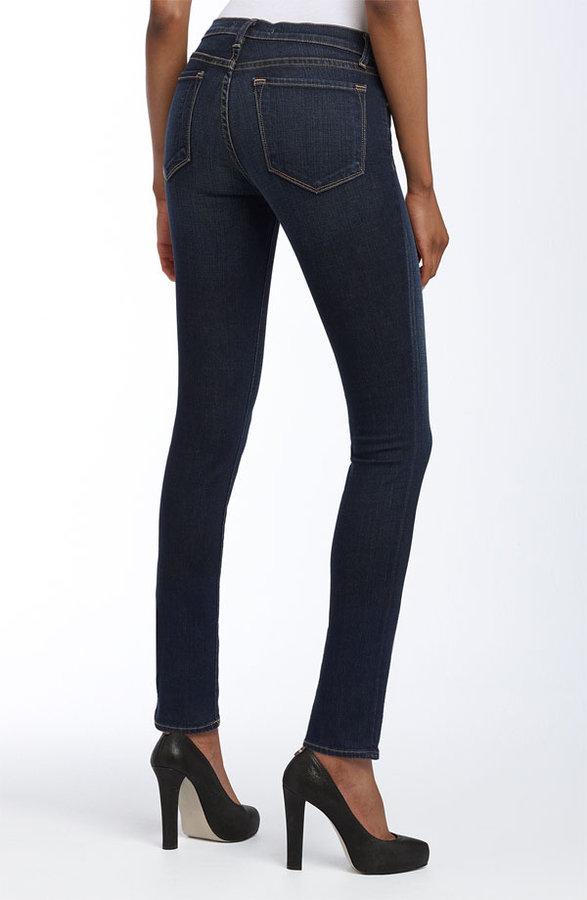 J Brand '811' Skinny Stretch Ankle Jeans (Dark Vintage Wash)
