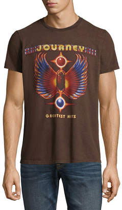 Novelty T-Shirts Journey Greatest Hits Graphic Tee