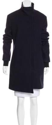 CNC Costume National Distressed Wool Coat