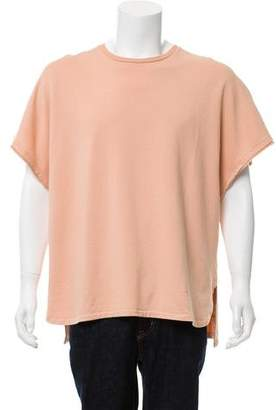 Blurhms The French Terry Cut Off Box T-Shirt w/ Tags