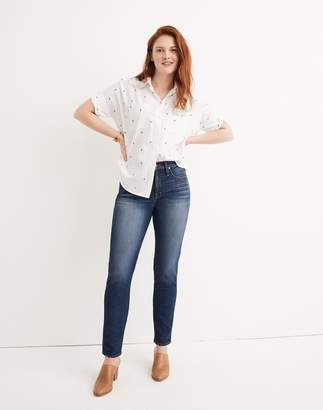 Madewell Taller Slim Straight Jeans in William Wash