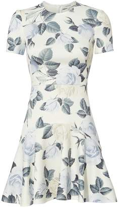 Lover Rosa Flora Mini Dress