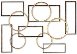 Uttermost Elias Bronze-Tone & Gold-Finish Iron Wall Art