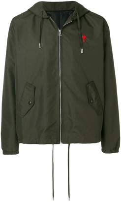 Ami Alexandre Mattiussi hooded zipped jacket