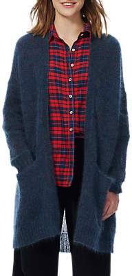 Brora Mohair Long Cardigan