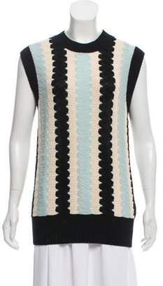 Calvin Klein Wool Blend Sleeveless Top