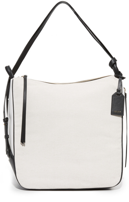 DKNY Canvas Hobo Bag $398 thestylecure.com