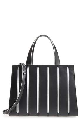 Max Mara Medium Whitney Leather Tote