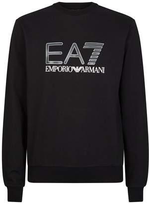 Ea7 Logo Sweater