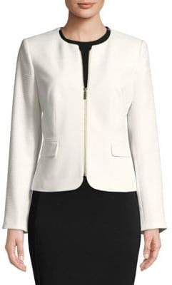Calvin Klein Plus Zip Front Jacket