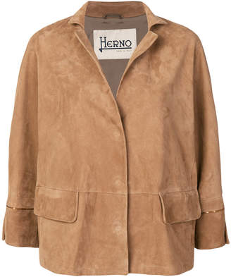 Herno padded cropped jacket