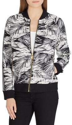 Lauren Ralph Lauren Tropical Bomber Jacket