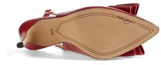 Halogen 'Lila' Studded Bow Pointy Toe Pump