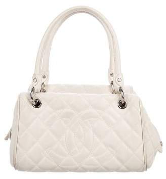 Chanel Caviar CC Bowler Bag