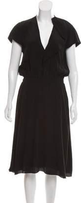 Etoile Isabel Marant Short Sleeve Midi Dress