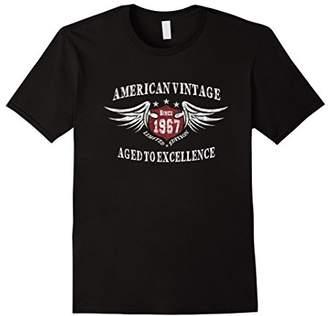 American Vintage 1967 Birthday Gift T-shirt For Men Women