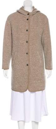 Pinko Tag Wool-Blend Coat
