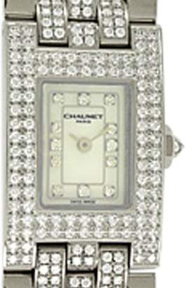 Chaumet Diamond Champs-Elysées 18K White Gold Watch