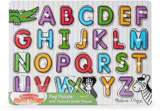 Melissa & Doug Alphabet Peg Puzzles