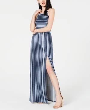 BCX Juniors' Striped Maxi Dress