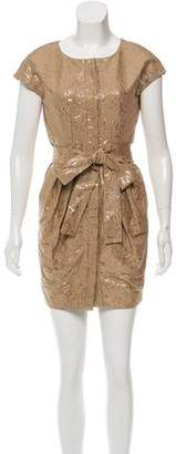 Stella McCartney Metallic Mini Dress