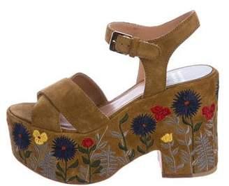 Laurence Dacade Suede Platform Sandals