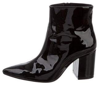 Anine Bing Patent Leather Ankle Booties