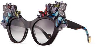 Karlsson Anna-Karin 3D Glitter Butterfly Sunglasses