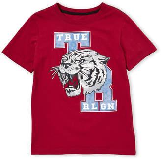 True Religion Boys 8-20) Short Sleeve Varsity Tee