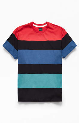 RVCA Surrender Striped T-Shirt