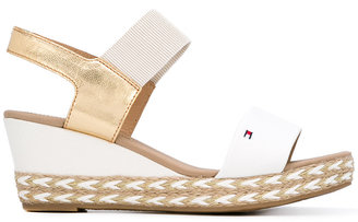 Tommy Hilfiger braided sole wedge sandals $114.73 thestylecure.com