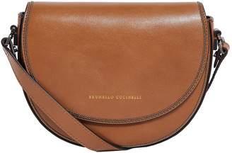 Brunello Cucinelli Saddle Cross Body Bag