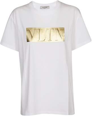 Valentino Foil Vltn Logo Printed T-shirt
