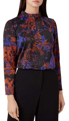 Hobbs London Gia Botanical Print Top