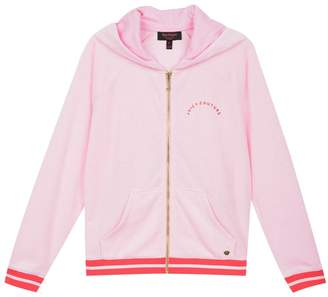 Juicy Couture Micro Terry La Sunset Hoodie For Girls