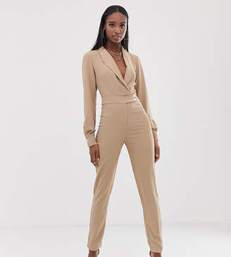 Fashion Union Tall tuxedo jumpsuit