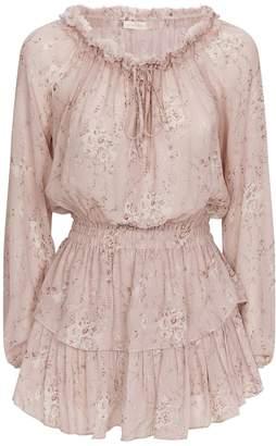 LoveShackFancy Love Shack Fancy Popover Tiered Dress