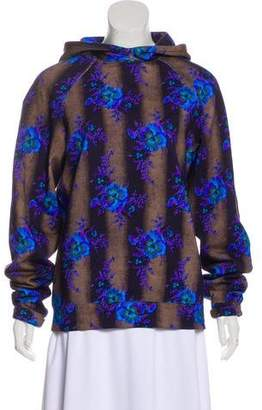 Christopher Kane Floral Print Sweater