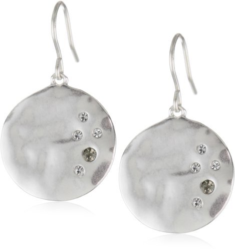 Kenneth Cole New York Worn Circle Drop Earrings